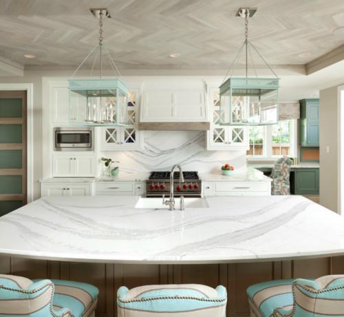 Calacatta Quartz Kitchens: Calacatta Classique Quartz Countertops