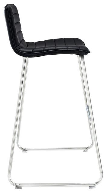 Marvelous Dive Bar Stools Black Set Of 4 Beatyapartments Chair Design Images Beatyapartmentscom