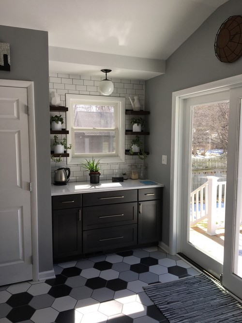 My Cabinets Are Too White Too Blue White - Warm gray cabinets