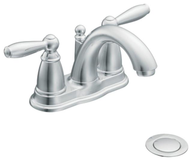 Moen 2 Handle Low Arc Bathroom Faucet