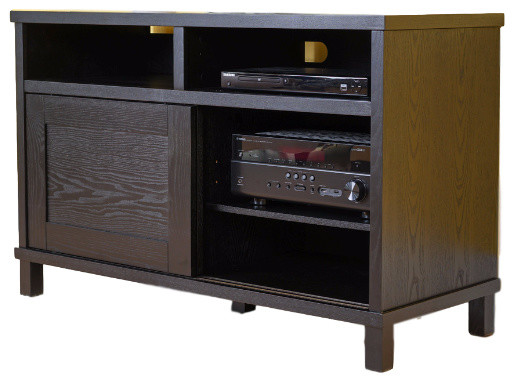 Haven Home Sullivan Entertainment Center Sharp Black