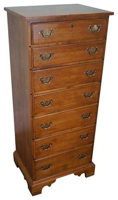 Etonnant Ethan Allen 1776 Collection Maple Lingerie Chest