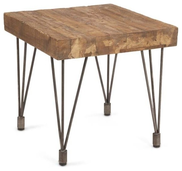 Tarpon side table farmhouse side tables and end tables for Farmhouse end table set