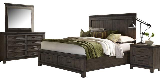 liberty thornwood hills bedroom set furniture by thornwood 6 piece queen bedroom set