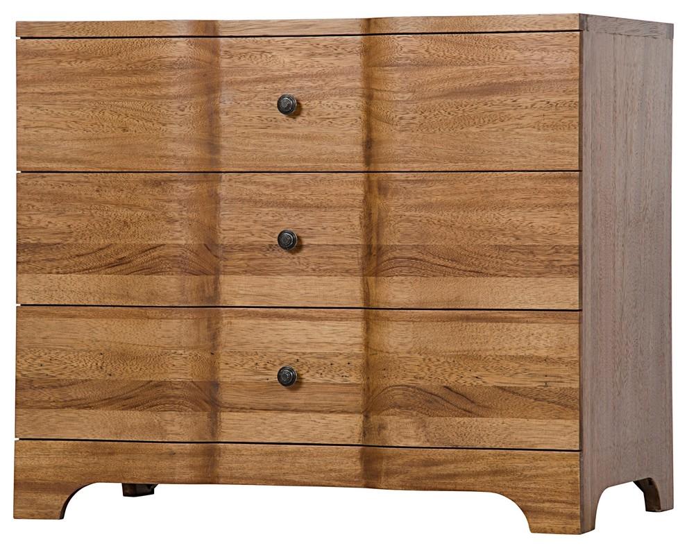 38 Wide Chest Dresser Solid Walnut
