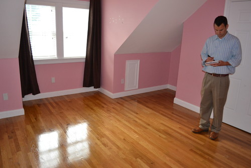 Moving Soon And This Very Pink Bedroom Will Soon Be A Bedroom For - Painting ideas for bedrooms with slanted ceilings