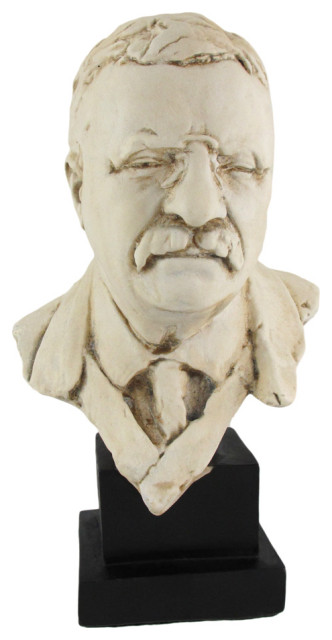 Theodore `Teddy` Roosevelt Bust 10 In.