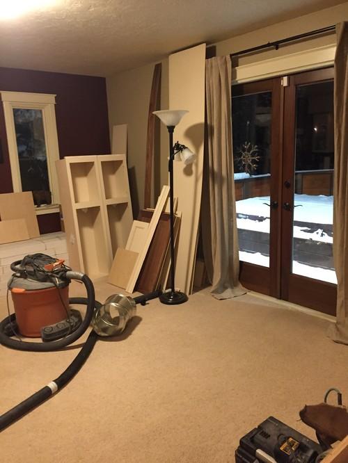 Hardwood Or Tile In Front Of Patio Door