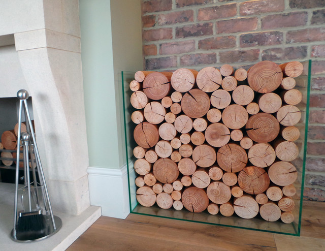 Amazing Decorative Logs For Residential House   Stratford UK Traditional