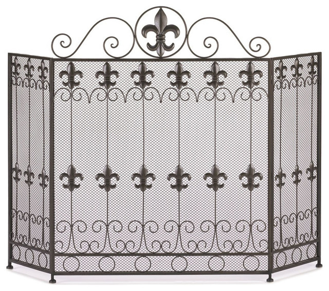 French Revival Fireplace Screen.