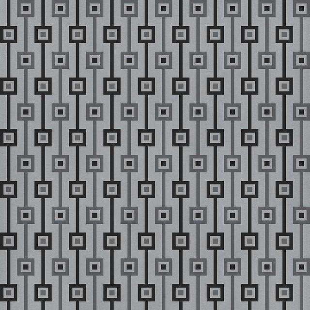 "20""x20"" Tailor Gray Luxury Vinyl Tile, Set Of 6."