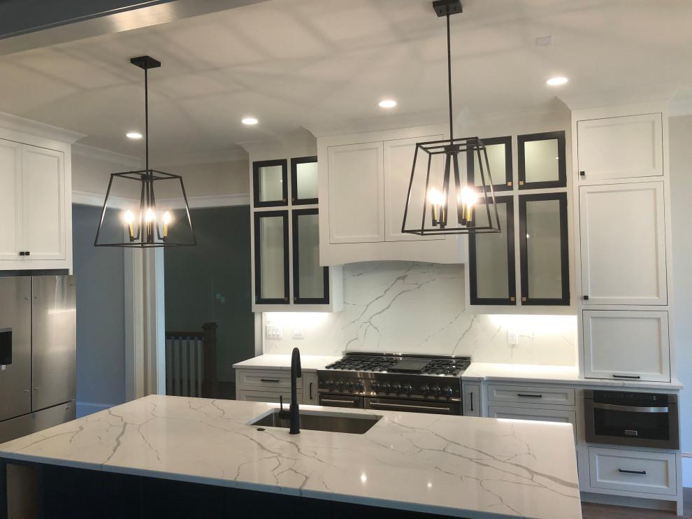 Trendy kitchen photo in Atlanta