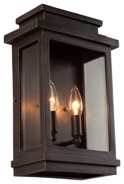 Rustic Exterior Wall Sconces : Artcraft Lighting AC8391 Fremont Outdoor Wall Sconce - Rustic - Outdoor Wall Lights And Sconces ...
