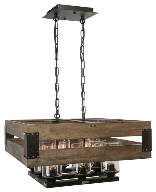 Wood Chandeliers For Dining Room: Wood Chandelier For Kitchen, Dining Room, Living Room