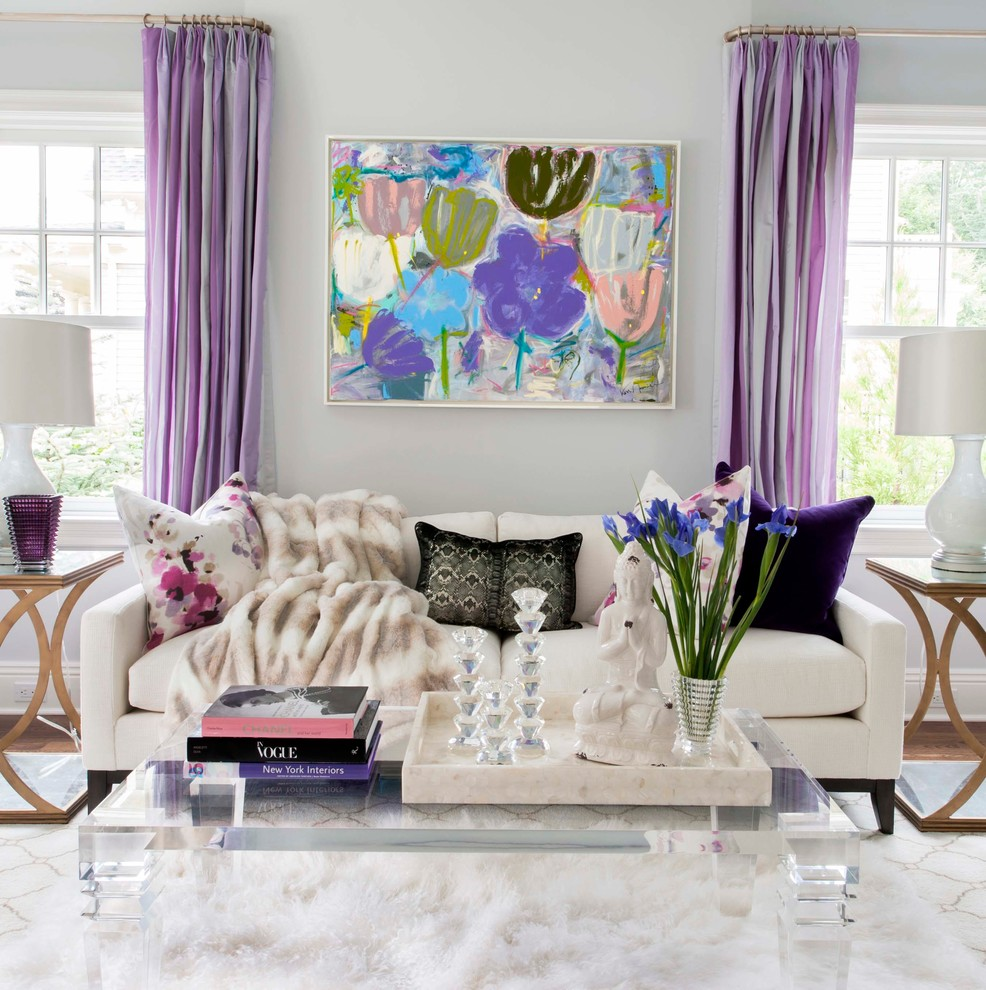 Inspiration for a contemporary home design remodel in New York