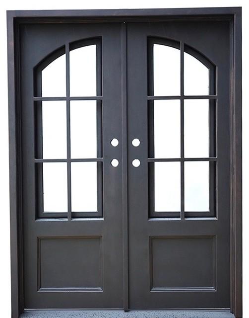 Air 8 Double Flat Door, Aquatex Glass, Right-Hand In.