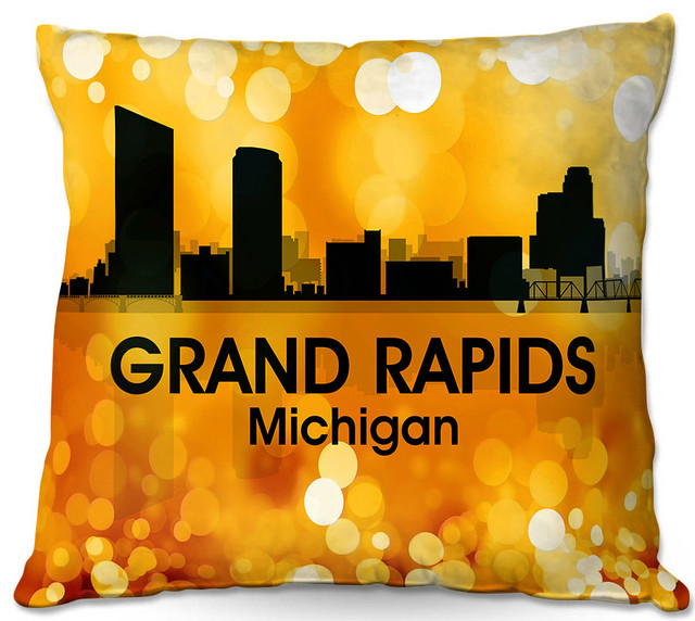 DiaNoche Outdoor Pillows By Angelina Vick City Lll Grand