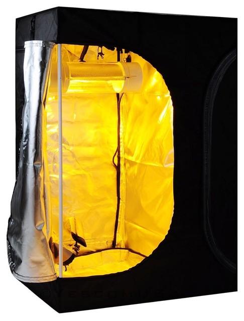 100% Reflective Mylar Hydroponics Grow Tent Non-Toxic.