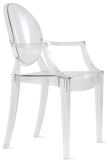 Louis Ghost Chair Set Of 2 Transpa Crystal
