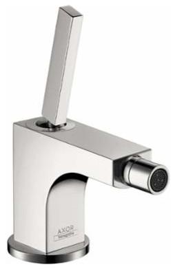 Hansgrohe bidet faucet single hole w horizontal spray pop up drain contemporary bidet - Hansgrohe pop up drain ...