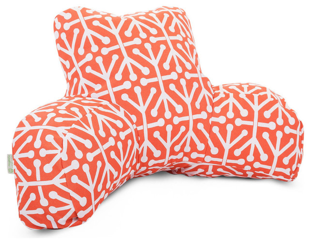 Decorative Reading Pillow : Majestic Home Goods Outdoor Aruba Reading Pillow - Decorative Pillows Houzz