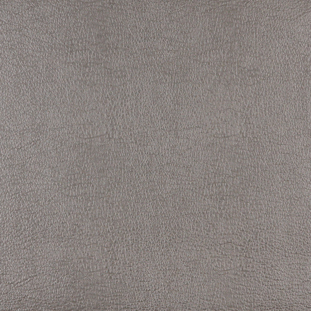 Palazzo Fabrics Silver Leather Grain Upholstery Faux