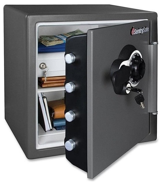 Sentry Fire-Safe Mechanical Lock Business Safe - Contemporary - Storage Cabinets - by Homesquare