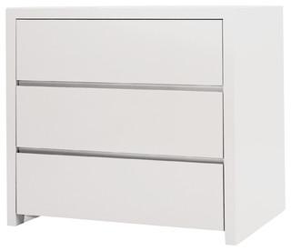 Blanche Half Dresser, White