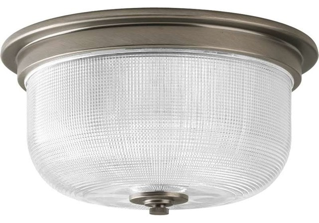 Progress Lighting Archie Collection 2 Light Antique Nickel: Progress Lighting P3740-15 Archie 2