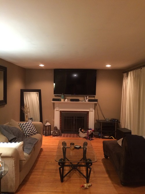 Living Room Layout Decor For Young Couple