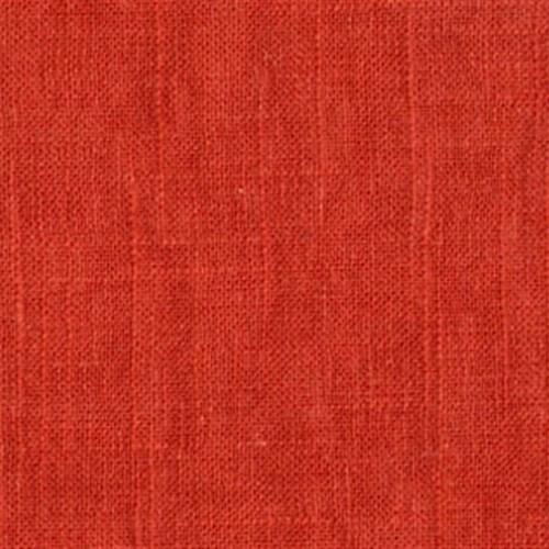 Jefferson Paprika Solid Orange Viscose Fabric Sample, Orange, Sample