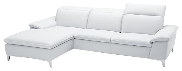 Fine Jm 1911 Premium Leather Sectional Sofa White Creativecarmelina Interior Chair Design Creativecarmelinacom
