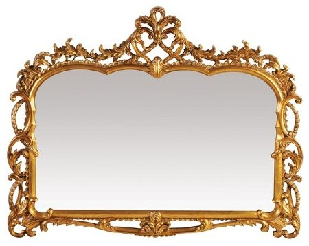 Sterling Industries Capetian Gold Leaf Traditional Mirror - 40-2470m.