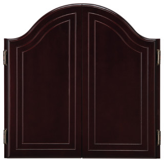 GLD Products - Cambridge Mahogany Dartboard Cabinet - View in Your Room! | Houzz