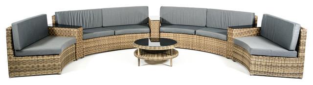 Renava Cobana Outdoor Sectional Sofa Set