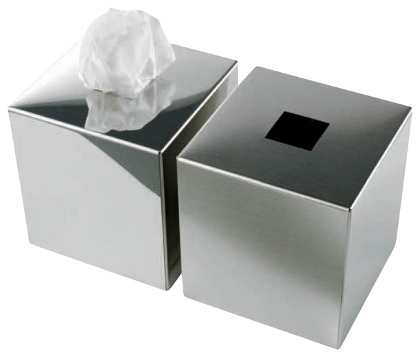 Modo Bath Harmony 510 Tissue Box In Mat Stainless Steel