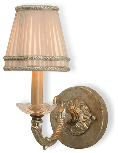 Wall Lamps Traditional : Currey & Company Halo Wall Sconce - Traditional - Wall Sconces - by Seldens Furniture
