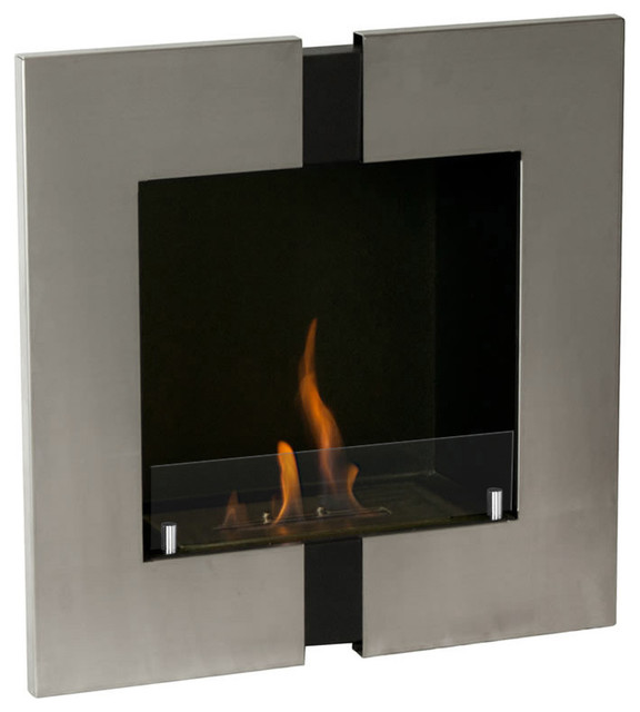 Sunnydaze El Fuego Ventless Tabletop Fireplace With Stainless Steel