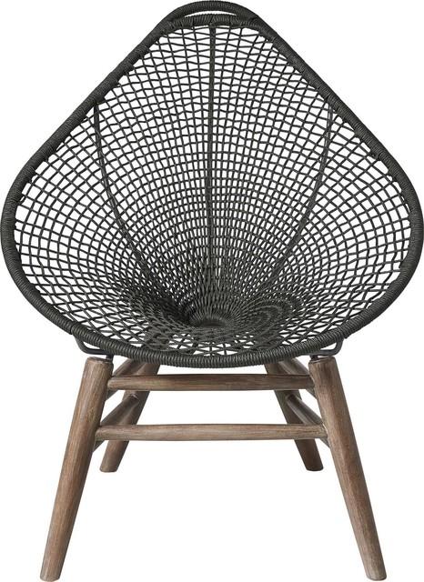 Groovy Lucida Accent Chair Dark Gray Cord And Weathered Eucalyptus Machost Co Dining Chair Design Ideas Machostcouk