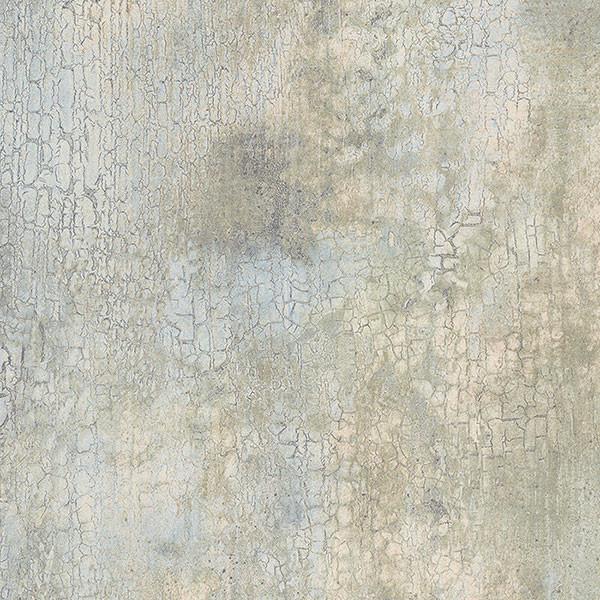 Modern Wallpaper Sage Green Metallic Faux Grasscloth: New Crackle Beige, Light Blue, Light Green, KB20225