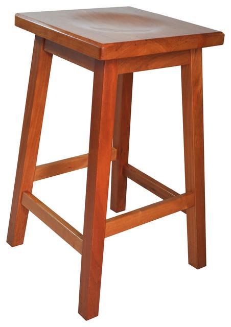 Mission Wooden Bar Stool Solid Cherry Wood Craftsman  : craftsman bar stools and counter stools from www.houzz.com size 452 x 640 jpeg 53kB