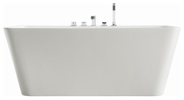 """Streamline 67"""" Freestanding Faucet And Tub Set."""