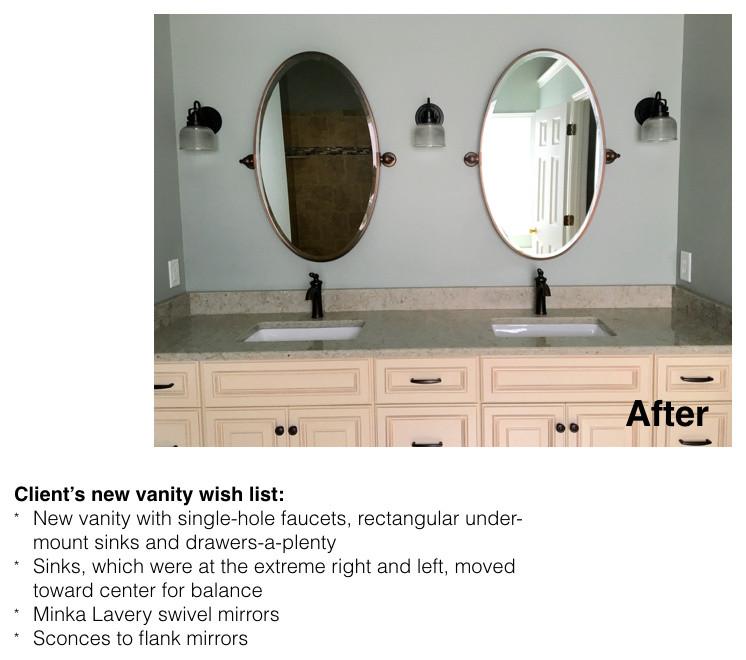 Mullet renovation - master bath