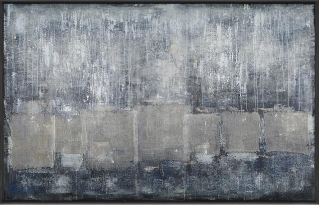 "Moe&x27;s Home ""grayscale"" Wall Decor."