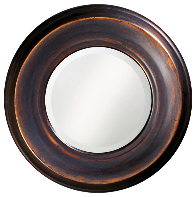 dublin round mirror traditional wall mirrors by fratantoni lifestyles. Black Bedroom Furniture Sets. Home Design Ideas