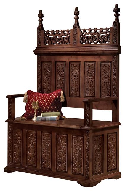 Fantastic York Monastery Gothic Bench Uwap Interior Chair Design Uwaporg