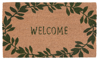 Leafy Welcome Mat