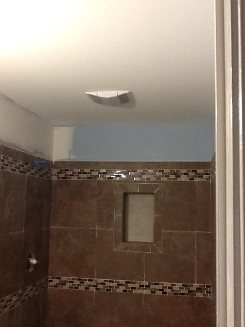 Track lightning in bathroom
