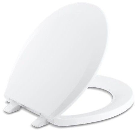 Magnificent Kohler Lustra With Quick Release Hinges Round Front Toilet Seat White Machost Co Dining Chair Design Ideas Machostcouk
