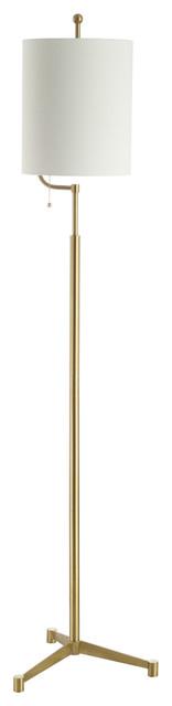 Studio Seven Ezekiel Floor Lamp, Brass